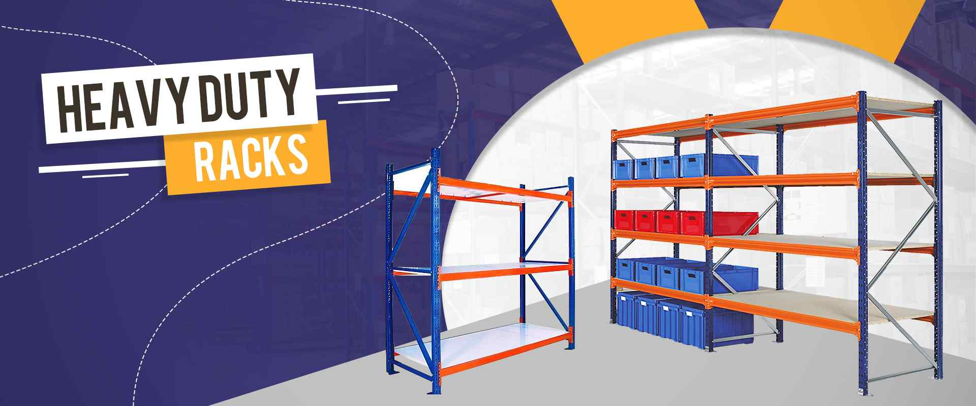 Heavy Duty Racks In Ropar
