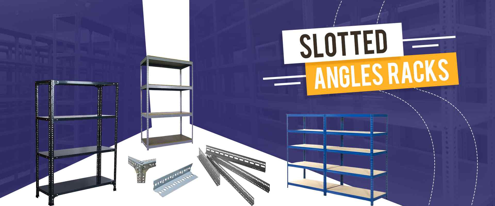 Slotted Angles Racks In Hoshiarpur